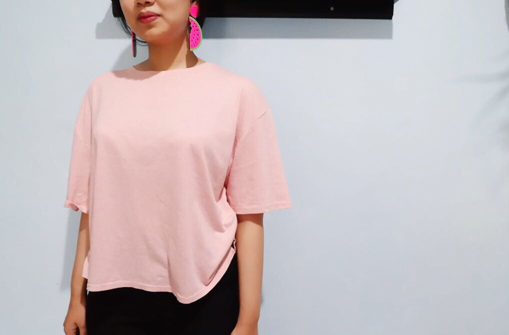 Top cotton on pink