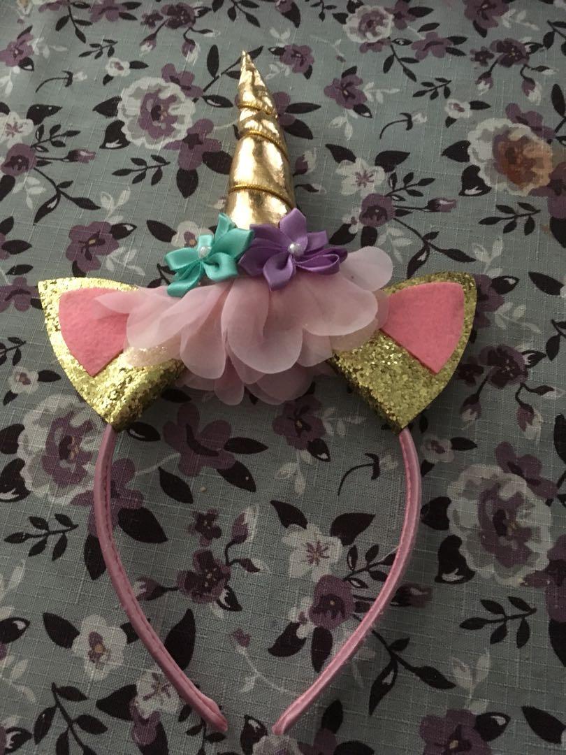 Unicorn hair accessory