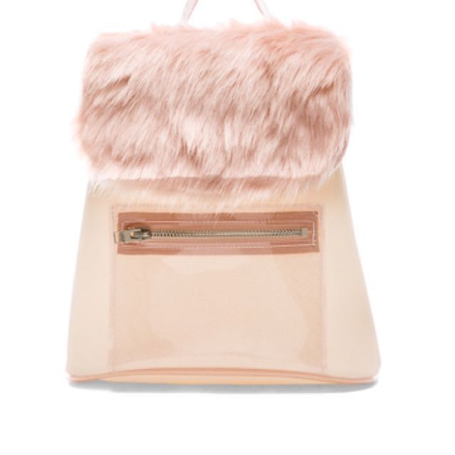 UNIF Glitz glitter pink *RARE* backpack