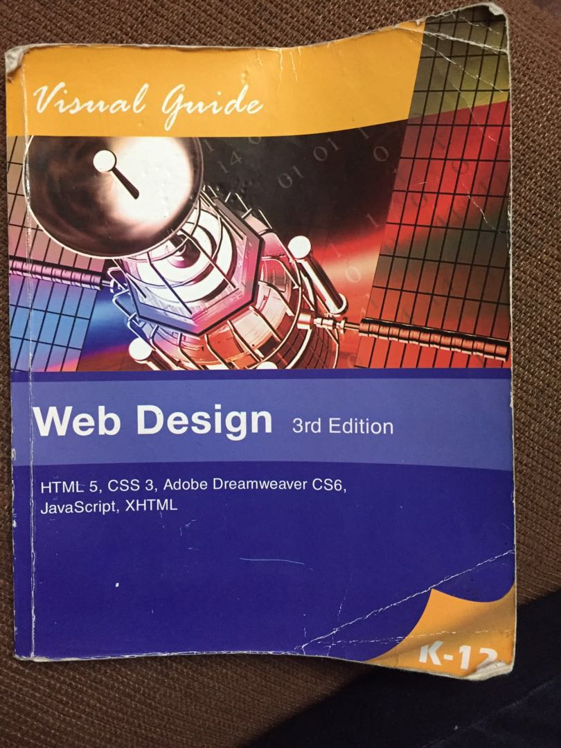 University Of Cebu Grade 9 Web Design 3rd Edition Book Textbooks On Carousell