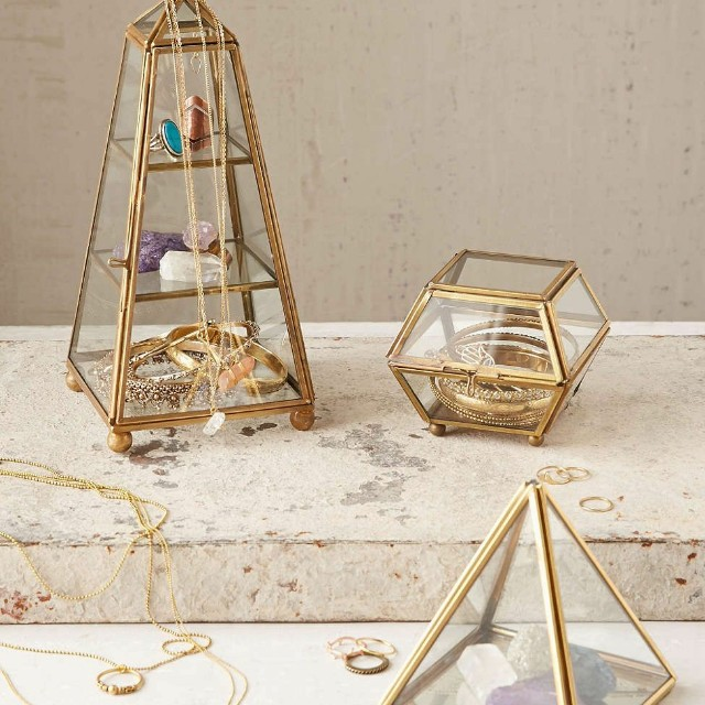 Urban Outfitters Glass Tower Box