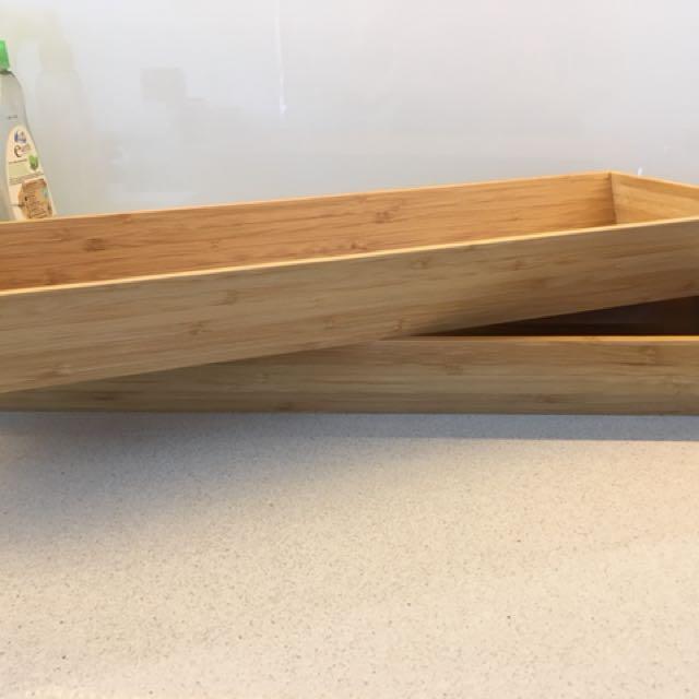 """""""Variera"""" Bamboo cutlery tray"""