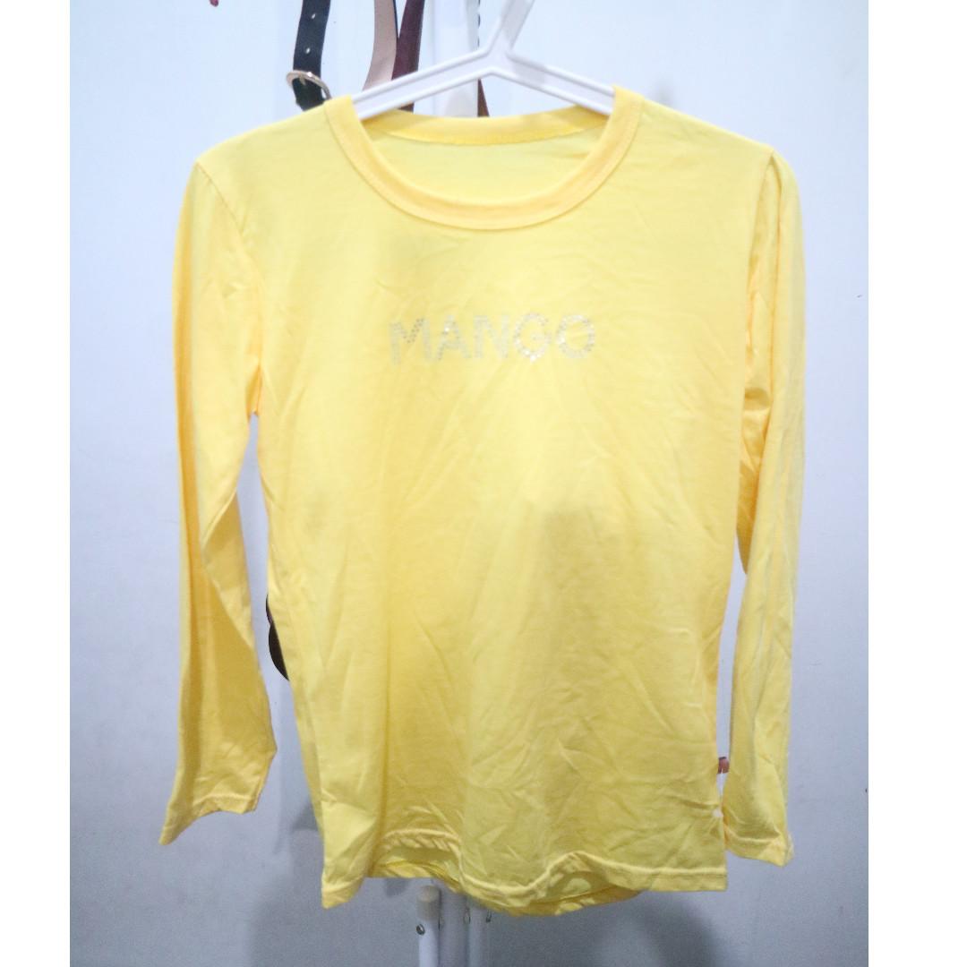 Yellow Long Sleeve T Shirt