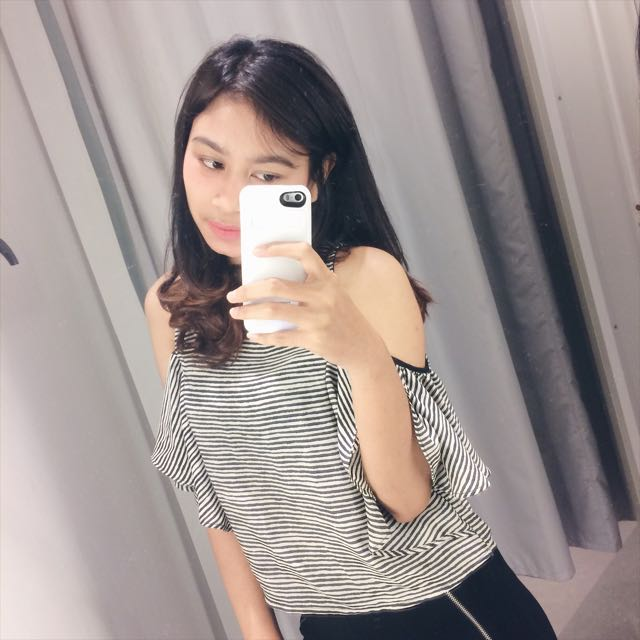 ZARA off shoulders