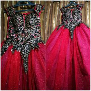 Red Ball Gown For Sale Only