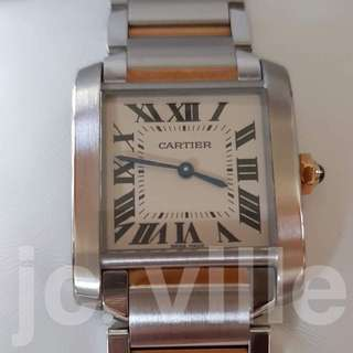 Cartier Tank Française Medium W2TA003