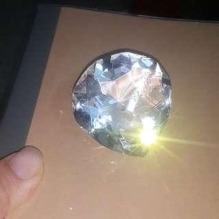 心形水晶擺設