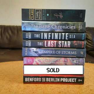 Brand new YA books part 2