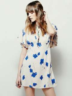 *NEW* FREE PEOPLE Melanie floral dress