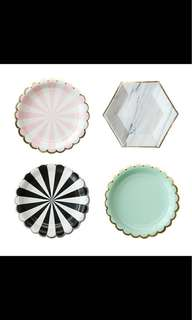 Paper Plate Photography Props