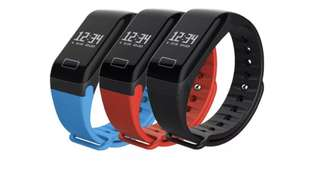 Smart Fitness Watch (blue / red / black)