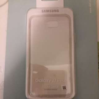 Samsung J7 clear cover