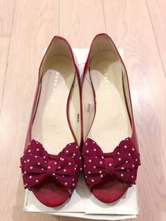 JAPAN Jelly Beans low heels shoes