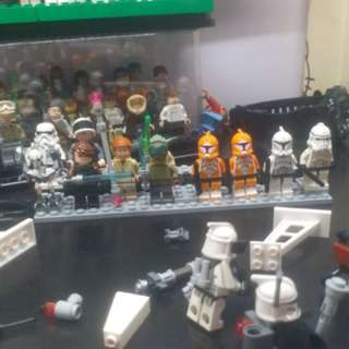 Starwars Star Wars 星球大戰 Lego 人仔