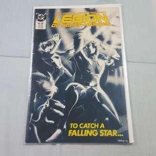 Legit Brand New Sealed DC Legion of Superheroes Comics Magazine No. 48 July 1988