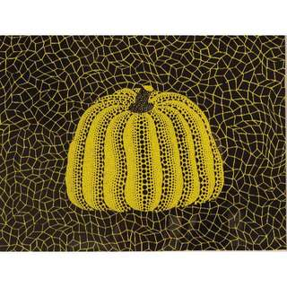 Yayoi Kusama Authentic Pumpkin Print Artwork