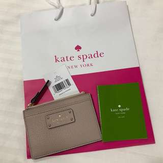 Brand New Authentic Kate Spade Card Holder