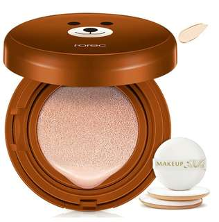 Bedak Brown cute cartoon bb air cushion