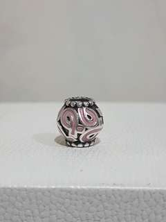 Pandora breast cancer ribbon charms