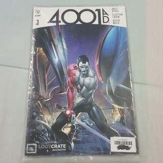 Legit Brand New Sealed Valiant 4001 AD Comics Magazine #1 Loot Crate Exclusive