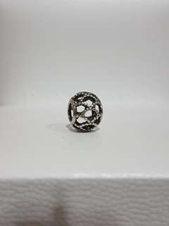 Pandora beaded weave cage charms