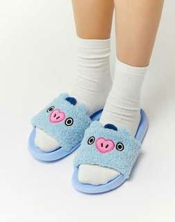 OFFICIAL BT21 SLIPPERS - BTS Jhope Mang (Size 7)