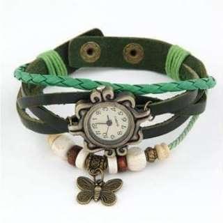 Watch butterfly design