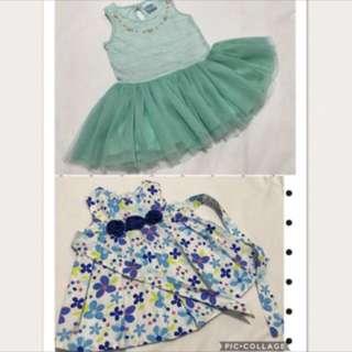 ‼️TAKE ALL‼️Oshkosh dress & crib couture tutu