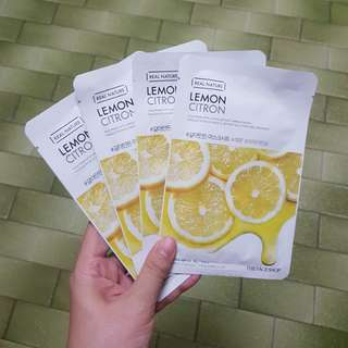 Real nature Face Mask (4 pieces) with foc mailing