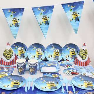 MINIONS Birthday Party Supplies Package