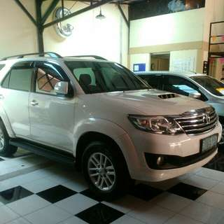 Toyota Fortuner VNT Turbo 2013 matic..tinggal pakai