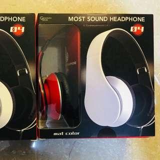 全新日本直送headphones (紅色)