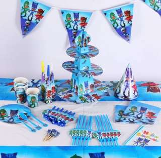 PJ MASKS Birthday Party Supplies Package