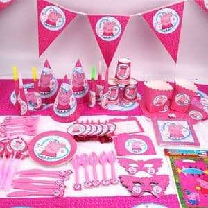 PEPPA PIG Birthday Party Supplies Package