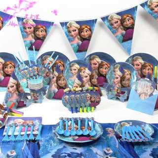 FROZEN Birthday Party Supplies Package