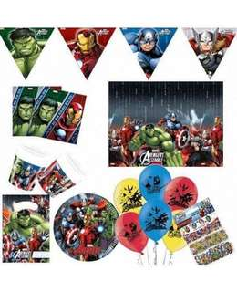 AVENGERS Birthday Party Supplies Package