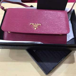 PRADA sling/wallet/purse (brand New)