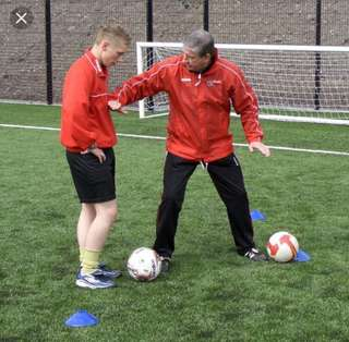 One on one football coaching