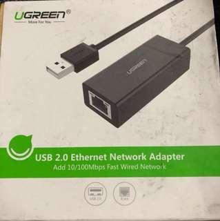 Ugreen USB 2.0 Ethernet Network Adaptor