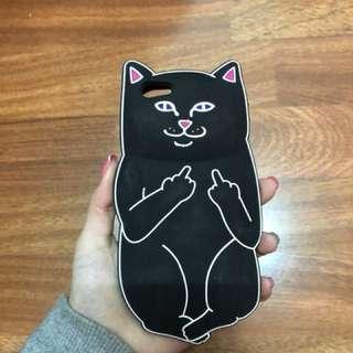 iPhone6粗口貓軟膠電話殼