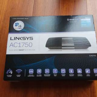 linksys smart wifi router ea6700 ac1750 cisco