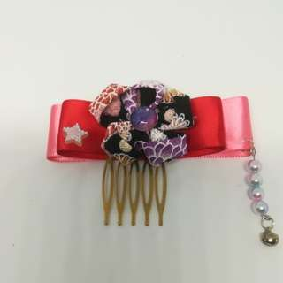 Japanese flower hair accessories