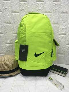 New arrival !!! Backpack  3 compartments   2 pocket size :H19*W11*D8 inches price : P550