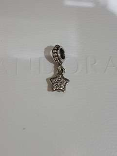 Pandora star wave pendant charms