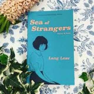 SEA OF STRANGERS Lang Leav