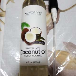 Majestic Pure Coconut oil 473 ml UP:$33 no trade if SOLD you can see. Sold 1bottle, Bal 2 bot.