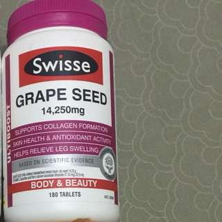 Swisse grape seed for collagen growth anti ageing