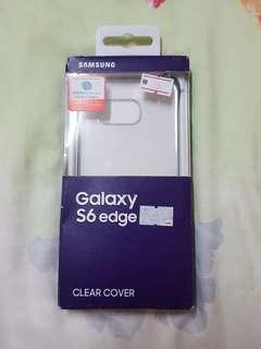 Original Samsung Galaxy S6 Edge Clear Cover