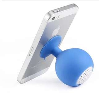 Suction mini speaker for iPhone4s/5s