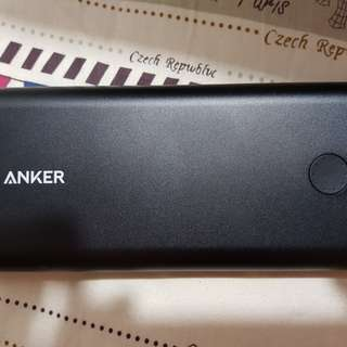 Anker powercore + 26800 And Powerport +1